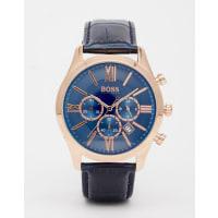 HUGO BOSSBy Hugo Boss - 1513320 - Orologio con cinturino di pelle blu - Blu