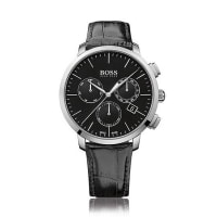 HUGO BOSSStainless steel chronograph with a quartz movement: Signature Timepiece