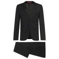 HUGO BOSSExtra-slim-fit suit in pure new wool: Adris4/Heibo3