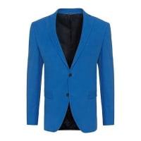 HUGO BOSSVeste de costume Extra Slim Fit en coton stretch au toucher de velours : « Ross2 »530.00