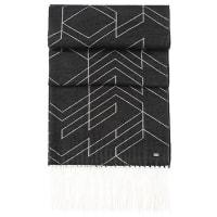 HUGO BOSSPatterned reversible scarf in cotton blend: Scarf-Herringbone