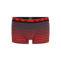 HUGO BOSSHugo Boss Boxer Degradee Stripe Cotton Trunks XXL Open Red