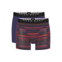 HUGO BOSSHugo Boss Cyclist 2P FN Print Cotton Boxer Briefs, 2-Pack XXL Open Red