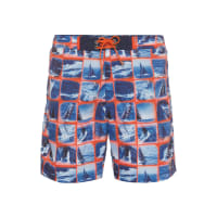 HUGO BOSSHugo Boss Octopus Quick-Drying Mosaic Sailing Swim Trunks XXL Open Blue