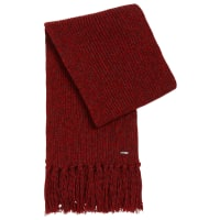 HUGO BOSSTailored scarf in cashmere blend with fringes: T-Bassetto