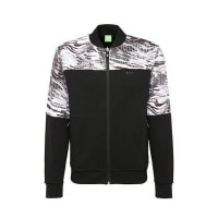 HUGO BOSSJersey jacket in cotton with a camouflage pattern: Stanlow