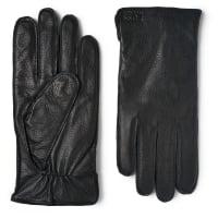 HUGO BOSSKranto Full-grain Leather Gloves - Navy