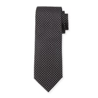 HUGO BOSSPindot Silk Tie, Charcoal