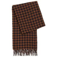 HUGO BOSSScarf in pure new wool with long fringes: Lenasa