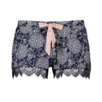 HunkemöllerJersey lace shorts Blue