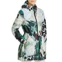 HunterBotanical Print Rain Jacket