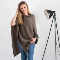 Hurley BurleyPersonalised Supersoft Pure Cashmere Poncho Wrap