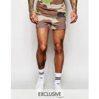 HypeRetro Shorts In Camo - Green