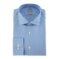 Ike BeharBold Stripe Woven Dress Shirt, Blue