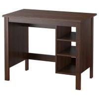 IKEABRUSALI, Schreibtisch, braun