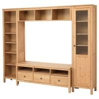 IKEAHEMNES, TV-Möbel, Kombination, hellbraun