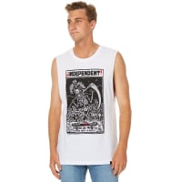 IndependentIndependiente Mens Muscle White