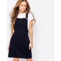 InfluenceCheck Pinafore Dress - Black
