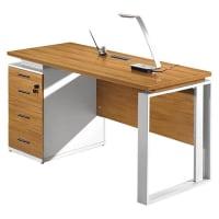 InikoLyle White & Beech Office Desk