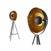 INSIDEARTStaande lamp MOVIE - H. 166 cm - goudkleurig van het merk INSIDE ART