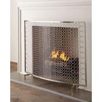 INTERLUDESabrina Fireplace Screen