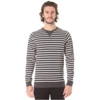 IriedailyStriate Pocket Crew - Sweatshirt für Herren - Grau