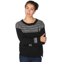 IriedailyYma Knit W Strick Pullover Strickpulli schwarz weiß schwarz weiß