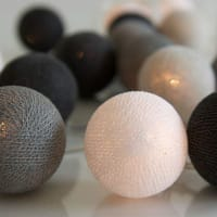 IrislightsGraphic Grey 20 bollar