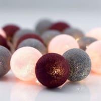 IrislightsGuirnalda de luces Ruby 35 bolas