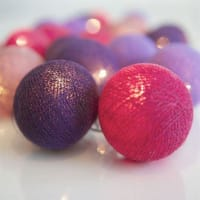 IrislightsGuirnalda de luces Vivid Violet 20 bolas
