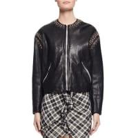 Isabel MarantBuddy Studded Leather Jacket, Black