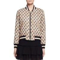 Isabel MarantDabney Reversible Cotton Bomber Jacket, Ecru