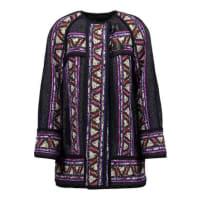 Isabel MarantDriest Printed Wool-blend Coat - Multi