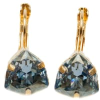 Isabella TropeaCrystal Candy Kiss EarringBlue Shade / Gold