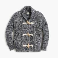J.crewBoys shawl-collar marled cardigan sweater