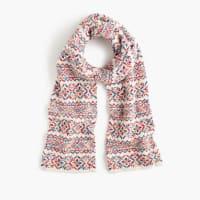 J.crewColorful Fair Isle scarf