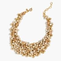 J.crewCrystal jumble necklace