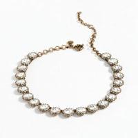 J.crewCrystal Venus flytrap necklace