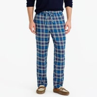 J.crewFlannel pajama pant in blue plaid