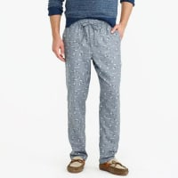 J.crewFlannel pajama pant in duck print