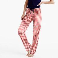 J.crewTall gingham flannel pajama pant