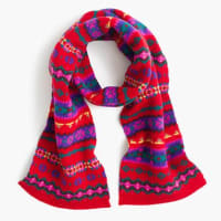 J.crewGirls Fair Isle scarf