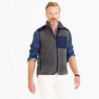 J.crewGrizzly fleece vest