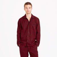 J.crewHeathered cotton flannel pajama set in buffalo check