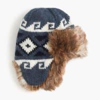 J.crewKids Fair Isle trapper hat
