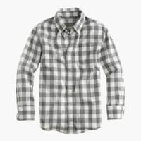 J.crewKids shirt in heather check