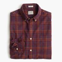 J.crewSecret Wash shirt in red plaid