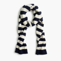 J.crewStriped pom-pom scarf