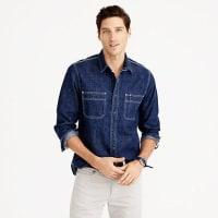 J.crewWallace & Barnes selvedge denim shirt