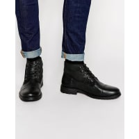 Jack & JonesCrust Leather Warm Boots - Black